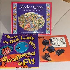 Nursery rhyme books rebus